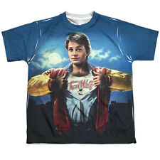 Teen Wolf Poster Sub Big Boys Youth Sublimation Polyester Shirt White