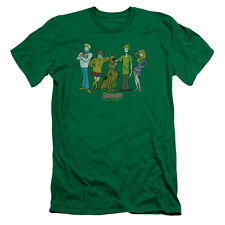 Scooby Doo Scooby Gang Mens Premium Slim Fit Shirt