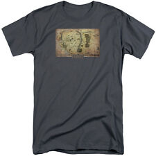 The Hobbit Middle Earth Map Mens Big and Tall Shirt