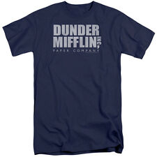 The Office Dunder Mifflin Distressed Mens Big and Tall Shirt