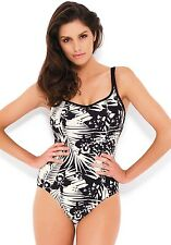 Clearance......Panache Claudette Swimsuit SW0650 Black / Ivory 30-32 D-K
