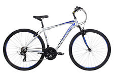 Ford Kuga HT, Mens Hybrid Bike, 21 Speed, Silver / Blue RRP £319.99