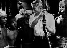 Lord Jim Story Telling in Black and White High Quality Photo