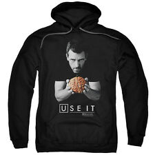 House M.D. Medical Drama TV Series Fox Use It Hugh Laurie Adult Pull-Over Hoodie