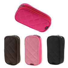 Travel Storage Makeup Toiletry Organizer Cosmetic Purse Wash Bag with Mirror