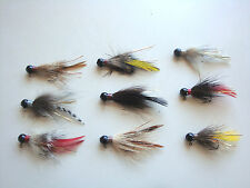 4 HANDTIED SPECIALTY HAIR FISHING JIGS 1/16 1/8 1/4ozTrout,crappie,walleye,bass