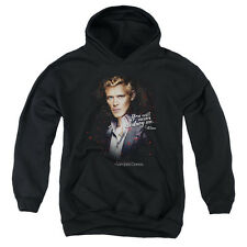 The Vampire Diaries Never Destroy Big Boys Youth Pullover Hoodie BLACK