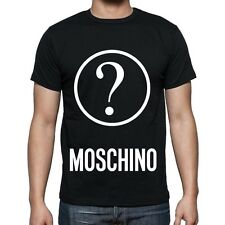 Black Men Mens Modern Sexy New T-Shirt Tee Question Love Moschino  2017