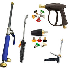 High Pressure Power Washer Sprayer Kit Nozzle Water Wand Home Garden Hose Tool