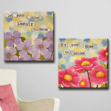 Red Barrel Studio 'Affirmation I/II' 2 Piece Graphic Art Print Set on Canvas