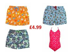 £4.99! BOYS GIRLS KIDS BABY  EX ADAMS SWIMMING TRUNKS SWIM COSTUME SWIM WEAR