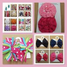 NWT Baby toddler GIRL Gymboree hair accessories bow clip band pony rubber PICK