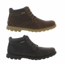 Rockport Rugged Bucks WP Mens Leather Waterproof Ankle Boots Size 7-11.5