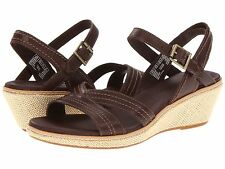 NEW TIMBERLAND EARTHKEEPERS Whittier Premium Dark Brown Leather Sandal sz 11