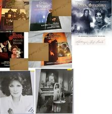 Kathryn Leigh Scott Dark Shadows Autographed books CD pics Music almanacs Signed