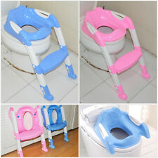 Kids Baby Safety Seat Chair Step Toddler Potty Toilet Training Adjustable Ladder