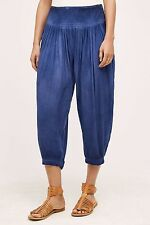 ANTHROPOLOGIE Hei Hei Cropped Pleated Harem Pants NwT Small