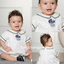 Custom Baptism Gowns For Boys White Ivory Christening Outfits 2017 High Quality