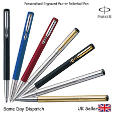 PARKER ROLLERBALL FOUNTAIN PEN BLACK , BLUE , RED , SILVER, GOLD, MATTE BLACK