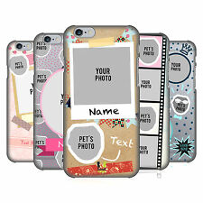 CUSTOM CUSTOMIZED PERSONALIZED CUSTOM PETS BACK CASE FOR APPLE iPHONE PHONES