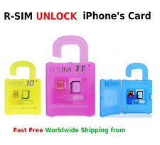 R-Sim11+ R-SIM11 R-SIM10+ Unlock iPhone 5 6 7 6 Plus and S serie Card iOS 9 10