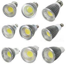 MR16 GU10 E27 E14 Dimmable LED COB Spot Down Light Lamp Bulb 6W 9W 12W Bright