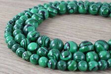 Green Malachite Round Gemstone Beads 6mm/8mm/10mm/12mm Natural Stone