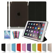For Apple iPad 4 3 2 Mini Air PU Leather Smart Stand Cover Hard Back Case  New