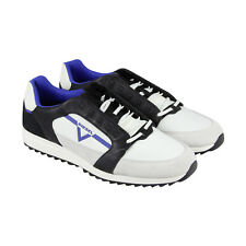 Diesel S Fleett Mens White Mesh Lace Up Lace Up Sneakers Shoes