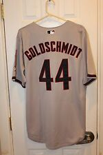 gray Arizona Diamondbacks Paul Goldschmidt (44) button-down stitched jersey NWT