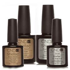 CND  Shellac nail Polish top Coat and Base Coat 7.3ml & 15ml 1st Class Delivery