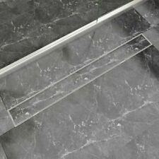 Linear Floor Shower Drain Wetroom Bathroom Channel Stainless Steel 6 Sizes