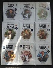 Doctor Who - The Complete History - Issues 1 to 9 - Brand New In Packaging