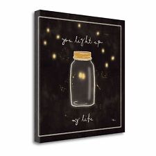 'Firefly Glow I' by Pela Studio Graphic Art on Wrapped Canvas
