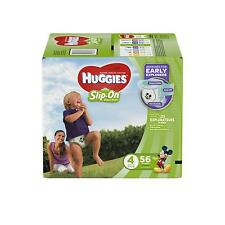 HUGGIES Little Movers Slip On Diaper Pants, Size 4 Choose Count