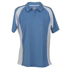 L.O.F.T. GOLF Ladies Windsor Blue/White Polo Shirt, 100% Polyester QUALITY polo