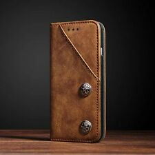 Retro Magnetic Leather Flip Stand Card Wallet Cover Case For iPhone 6 6S 7 Plus