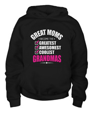 Great Moms Become Grandmas - Mothers Day Gift - Youth Hoodie