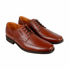 Clarks Tilden Walk Mens Brown Leather Casual Dress Lace Up Oxfords Shoes