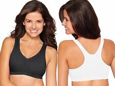 2-Pack Hanes Racerback Sports Bra Style H570