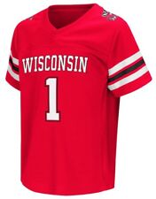 """Wisconsin Badgers NCAA """"Hail Mary Pass"""" Toddler Football Jersey"""
