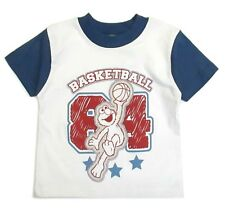 Elmo Toddler Sesame Street Boys Graphic Tee Shirt Basketball Size 2t 3t 4t Nwt 2
