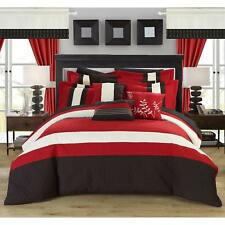 Chic Home Lorena Red 24-piece Bed in a Bag with Sheet Set