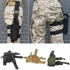 Tactical Drop Bag Puttee Leg Thigh Holster Pouch Holder Adjustable Hunting Belts