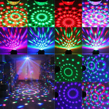 RGB Sound Control Magic Effect Stage Light LED DJ Disco Party Crystal Light NEW