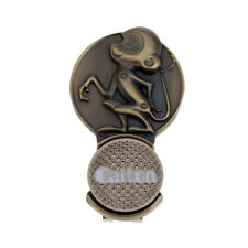 1 Piece Brass Golf Hat Clip with Detachable Ball Marker