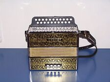 Accordion diatonic Hohner 2915 in g-c with straps New warranty 2 ans