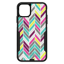 OtterBox Commuter for iPhone 5 SE 6 S 7 8 PLUS X Pink Purple Teal Herringbone