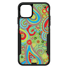 OtterBox Commuter for iPhone 5 SE 6 S 7 8 PLUS X Green Red Blue Paisley