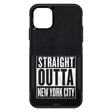 OtterBox Commuter for iPhone 5 SE 6 S 7 8 PLUS X Straight Outta New York City
